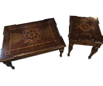 Safavieh Coffee Table + Matching End Table