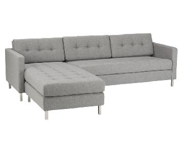 CB2 Ditto 2 Sectional Sofa