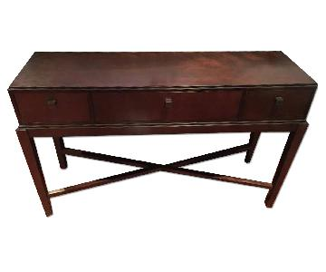 Pottery Barn Credenza Entry Table