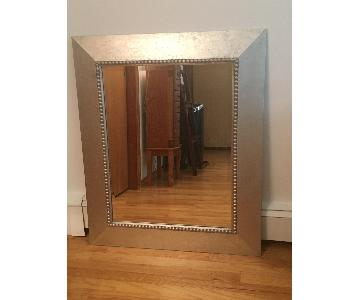 Home Goods Square Metal Framed Mirror