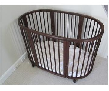 Stokke Sleepi Crib/Bed - Walnut
