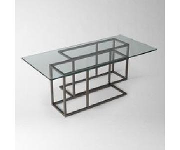 West Elm High Rise Coffee Table