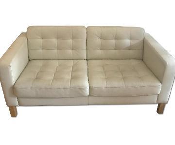 West Elm Leather Sofa