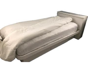 Rooms Plus Formica Platform Bed w/ Storage