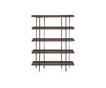 Crate & Barrel Beckett 5-High Shelf