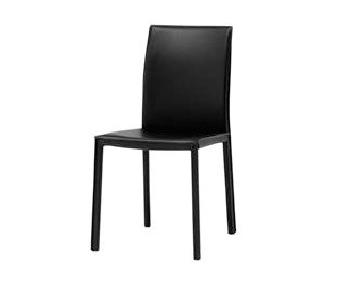 BoConcept Zarra Black Bonded Leather Chairs