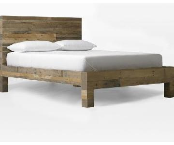 West Elm Emmerson Reclaimed Wood Bed Frame