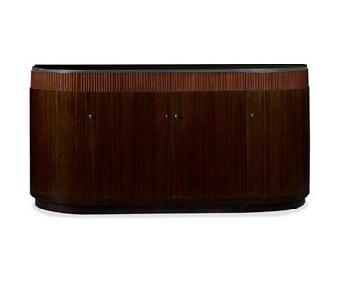 Ralph Lauren Modern Metropolis Extendable Dining Table + Sid