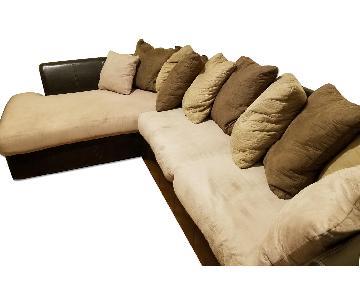 Raymour & Flanigan Sectional Sofa