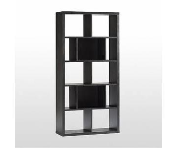 West Elm Rectangle Cutout Book Case