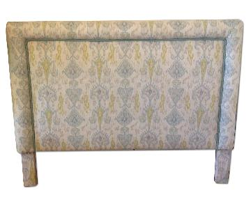 Queen Size Fabric Upholstered Headboard