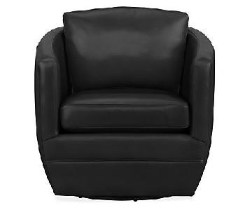 Room & Board Ford Leather Swivel Chair