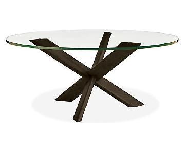 Room & Board Union Glass Top Coffee Table