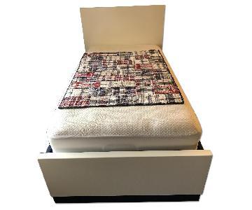 Room & Board Moda Twin Bed w/ 4 Storage Drawers