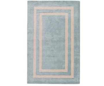 Kate Spade Chambray Hand Tufted Wool Rug