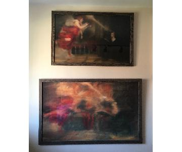 Gerhard Richter - Annunciation Painting Print