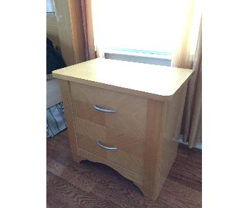 Wood 2 Drawer Chests