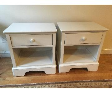 Stanley White Side Tables