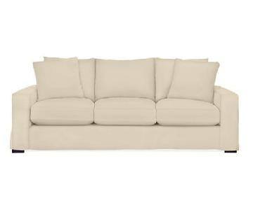 Room and Board Metro Three-Cushion Sofa