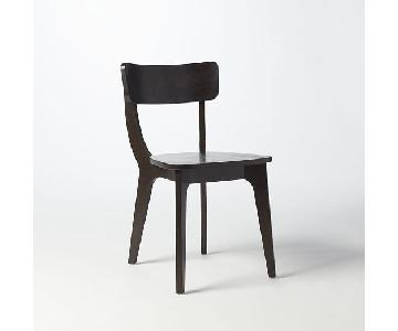 West Elm Klismos Dining Chairs
