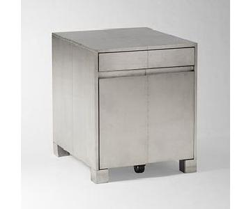 West Elm Parsons Filing Cabinet - Metal Wrapped