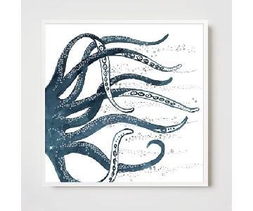 West Elm Framed Print - Octopus