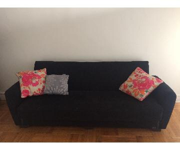 Beyan Orlando Sleeper Sofa w/ Storage & Pillows