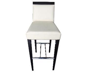 Modern Bar Chair w/ Padded Seat & Back