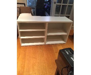 Ikea Brusali White TV Unit