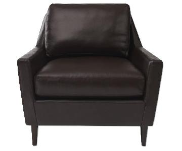 West Elm Everett Leather Arm Chair