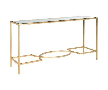 One King's Lane Kellen Console Table in Gold