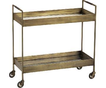 Crate & Barrel Bar Cart