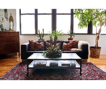 BoConcept Black 3 Seater Sofa