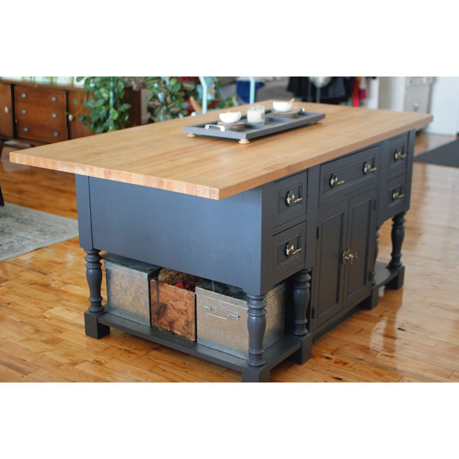 Pottery Barn & Boos Block Kitchen Island