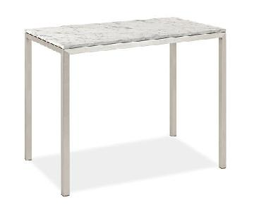 Room & Board Marble Bistro Dining Table