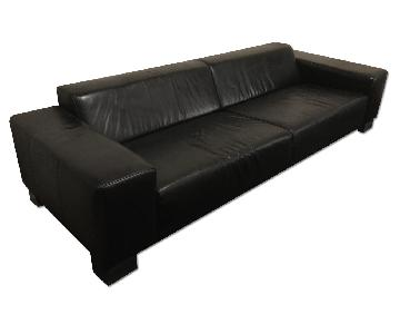 BoConcept Leather 3 Seater Sofa