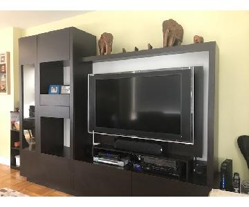 Bloomingdale's Kendall DLP TV Wall Unit