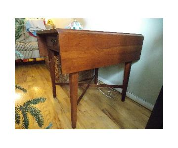 Ethan Allen Drop Leaf Small Table