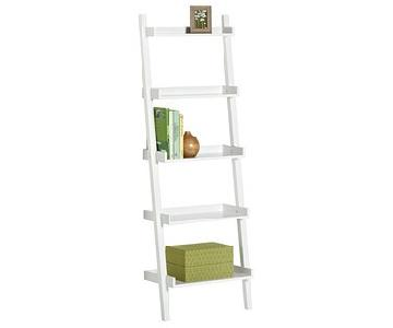 Container Store Java Linea Ladder Shelf