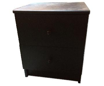 Ikea 2 Drawer Nightstand