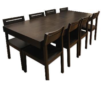 West Elm Terra 9 Piece Dining Set