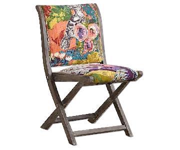 Anthropologie Folding Chair