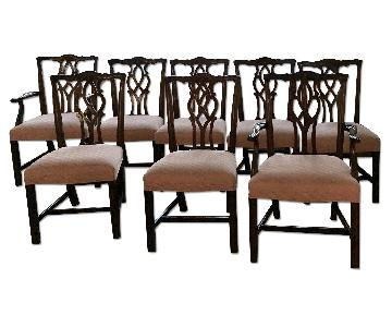 Kindel Furniture Chippendale Dining Chairs