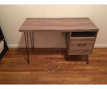 Modern Desk w/ 1 Drawer