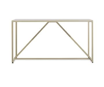 Blu Dot Strut Medium Desk in Ivory