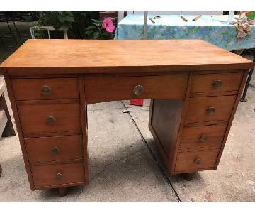 Standard Furniture Mid Century Modern Desk