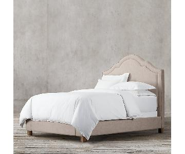 Restoration Hardware Jameson Fabric King Size Bed