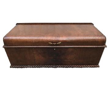 Roos Vintage Waterfall Trunk/Chest