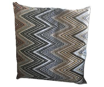 Missoni Pillow & Sferra Throw Blanket