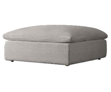 Restoration Hardware Cloud Ottoman